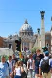 Τουρισμός σε Βατικανό Στοκ Εικόνα