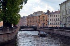 Τουρισμός στην Άγιος-Πετρούπολη Στοκ Φωτογραφία