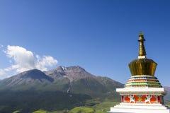 Τουρισμός της Κίνας Qinghai Στοκ φωτογραφία με δικαίωμα ελεύθερης χρήσης