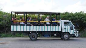 Τουριστηκό λεωφορείο, μεγάλο νησί Τούρκου Στοκ φωτογραφία με δικαίωμα ελεύθερης χρήσης
