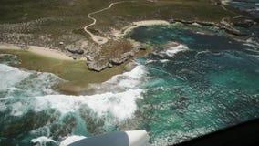 Τουριστική πτήση νησιών Rottnest απόθεμα βίντεο