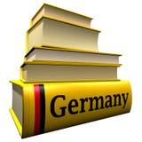 τουριστικοί οδηγοί της Γερμανίας λεξικών Στοκ Εικόνες