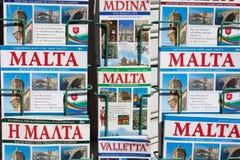 Τουριστικοί οδηγοί της Μάλτας Στοκ Εικόνες