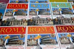 Τουριστικοί οδηγοί της Ρώμης Στοκ εικόνα με δικαίωμα ελεύθερης χρήσης