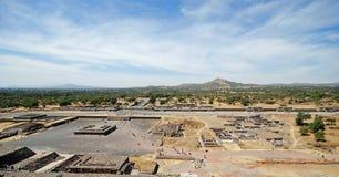 Τουριστικό αξιοθέατο Archeological, Teotihuacan, Μεξικό Στοκ εικόνες με δικαίωμα ελεύθερης χρήσης