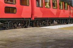 Τουριστικό παλαιό τραίνο που σταθμεύουν, Guayas, Ισημερινός Στοκ εικόνα με δικαίωμα ελεύθερης χρήσης