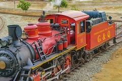 Τουριστικό παλαιό τραίνο που σταθμεύουν, Guayas, Ισημερινός Στοκ Εικόνες