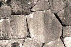 Τουρκία και ραγισμένο τούβλο βημάτων στο παλαιό materia σύστασης τοίχων Στοκ Φωτογραφίες