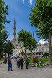Τουρκία Μπλε μουσουλμανικό τέμενος στη Ιστανμπούλ, 1616 Στοκ Φωτογραφίες