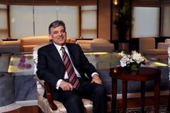 Τουρκία Πρόεδρος Αμπντουλάχ Γκιουλ Στοκ εικόνες με δικαίωμα ελεύθερης χρήσης