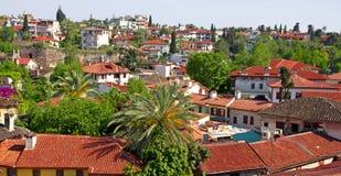 Τουρκία. Πόλη Antalya Στοκ εικόνα με δικαίωμα ελεύθερης χρήσης