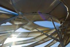 Τουρκία, τον Ιούλιο του 2016 Αρχιτεκτονική κατασκευή Έκθεση EXPO 2016 Στοκ φωτογραφία με δικαίωμα ελεύθερης χρήσης