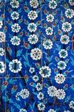 Τουρκικά οθωμανικά κεραμίδια Στοκ Εικόνες