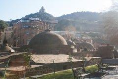 Τουρκικά λουτρά στον ήλιο Στοκ Φωτογραφία