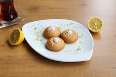Τουρκικά παραδοσιακά τρόφιμα Shakshuka Στοκ εικόνα με δικαίωμα ελεύθερης χρήσης