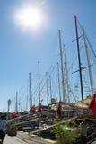 Τουρκικά σκάφη Στοκ εικόνες με δικαίωμα ελεύθερης χρήσης