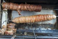 Τουρκικά τρόφιμα οδών kokorec στοκ εικόνα