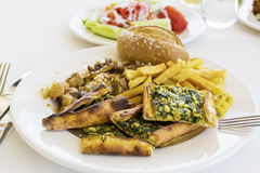 Τουρκικά τρόφιμα στοκ εικόνα