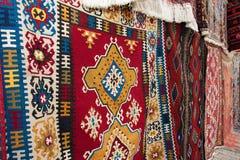 Τουρκικές κουβέρτες Στοκ εικόνες με δικαίωμα ελεύθερης χρήσης
