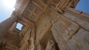 Τουρκική βιβλιοθήκη Ephesus καταστροφών Στοκ εικόνα με δικαίωμα ελεύθερης χρήσης