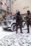 Τουρκική γρήγορη ειδικευμένη δύναμη ομάδα Cevik Kuvvet απάντησης Στοκ φωτογραφία με δικαίωμα ελεύθερης χρήσης