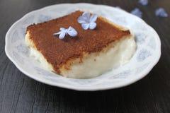 Τουρκική εθνική kazan πιάτων πουτίγκα ρυζιού dibi Στοκ Φωτογραφία