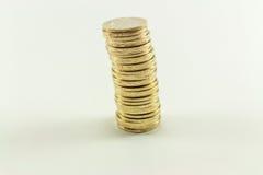 Τουρκική λιρέτα - χρήματα σιδήρου 1 TL Στοκ εικόνα με δικαίωμα ελεύθερης χρήσης