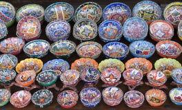 Τουρκική κεραμική Στοκ εικόνα με δικαίωμα ελεύθερης χρήσης
