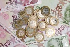 Τουρκική λιρέτα Στοκ φωτογραφία με δικαίωμα ελεύθερης χρήσης