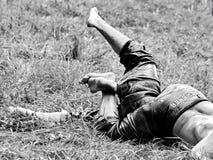 Τουρκική πάλη Στοκ εικόνες με δικαίωμα ελεύθερης χρήσης