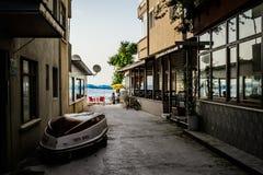 Τουρκική πόλη παραλιών Στοκ εικόνες με δικαίωμα ελεύθερης χρήσης