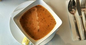 Τουρκική σούπα Στοκ Εικόνα