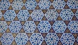 τουρκική ταπετσαρία προτύπων Στοκ Εικόνες
