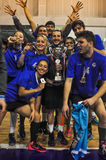 Τουρκική τελετή επηβραβεύσεων πρωταθλήματος Korfball Στοκ φωτογραφία με δικαίωμα ελεύθερης χρήσης