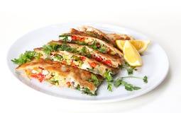Τουρκική τηγανίτα Στοκ Φωτογραφία