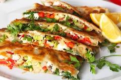 Τουρκική τηγανίτα Στοκ φωτογραφία με δικαίωμα ελεύθερης χρήσης