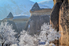 Τουρκική χειμερινή σκηνή Στοκ Εικόνες