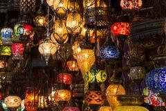 Τουρκικοί λαμπτήρες Στοκ φωτογραφία με δικαίωμα ελεύθερης χρήσης