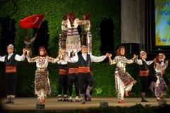 Τουρκικός θεαματικός χορός Στοκ Φωτογραφία