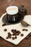 Τουρκικός καφές Στοκ εικόνα με δικαίωμα ελεύθερης χρήσης