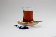 Τουρκικό γυαλί τσαγιού στοκ φωτογραφία με δικαίωμα ελεύθερης χρήσης