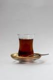 Τουρκικό γυαλί τσαγιού στοκ φωτογραφία