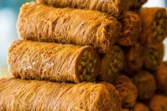 Τουρκικό γλυκό baklava Στοκ φωτογραφία με δικαίωμα ελεύθερης χρήσης