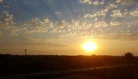 Τουρκικό ηλιοβασίλεμα στοκ φωτογραφίες
