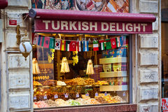 Τουρκικό κατάστημα απόλαυσης Στοκ εικόνα με δικαίωμα ελεύθερης χρήσης