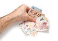 Τουρκικό νόμισμα Στοκ φωτογραφία με δικαίωμα ελεύθερης χρήσης