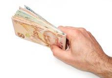 Τουρκικό νόμισμα Στοκ Εικόνα