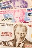 Τουρκικό νόμισμα Στοκ εικόνες με δικαίωμα ελεύθερης χρήσης
