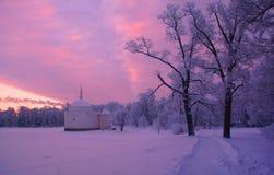 Τουρκικό λουτρό χειμερινού πρωινού Στοκ εικόνα με δικαίωμα ελεύθερης χρήσης