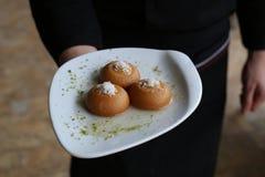 Τουρκικό παραδοσιακό επιδόρπιο Kemalpasha Στοκ Φωτογραφία